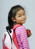 учитель 2 яблок Стоковые Изображения