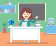 Учитель в комнате класса Стоковые Изображения RF