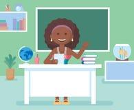 Учитель в комнате класса Стоковое Фото