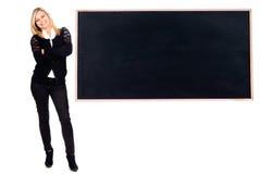 Учитель изолированный в белизне Стоковое Изображение