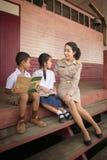 Учитель и студенты Стоковое Изображение RF