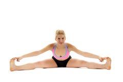 Учитель йоги женщины Стоковое фото RF