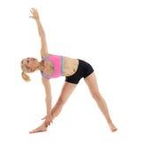 Учитель йоги женщины Стоковые Фото