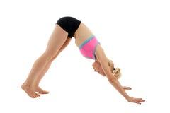 Учитель йоги женщины Стоковые Изображения