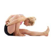 Учитель йоги женщины Стоковое Изображение RF