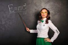 Учитель на классн классном Стоковое фото RF