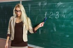 Учитель на школе Стоковые Фотографии RF