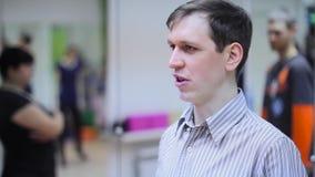 Учитель танца на уроке видеоматериал