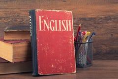 Учить английскую концепцию Стоковые Изображения RF