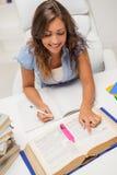 Учить девушки студента Стоковое Изображение RF