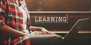 Учить изучающ концепцию искусств тренировки стоковая фотография rf