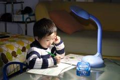 учить малыша Стоковые Фото