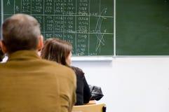 Учить математику Стоковая Фотография RF