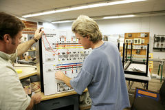 учить трансформаторы Стоковые Фотографии RF