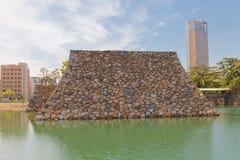 Учреждение основы держит замка Takamatsu, Японии Стоковые Изображения