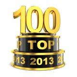 100 лучших года Стоковая Фотография