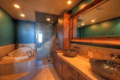 ушат ливня ванны Стоковое Фото