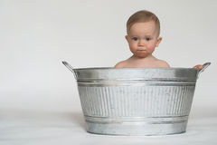 ушат младенца Стоковое фото RF