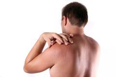 ушибать шею Стоковые Изображения RF