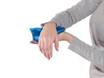 Ушиб запястья руки Стоковое Изображение