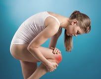 Ушиб колена стоковая фотография rf