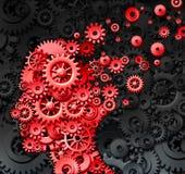 Ушиб человеческого мозга Стоковое Изображение RF