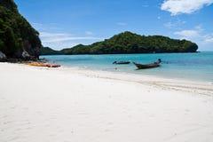 ушивальник Таиланда острова пляжа ang Стоковая Фотография
