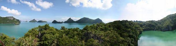 ушивальник Таиланда парка ang морской Стоковые Фото