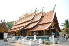 Ушивальник Wat Xieng Стоковое Изображение RF