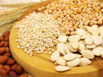 Уши гороха овса пшеницы Стоковая Фотография RF