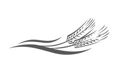 Уши пшеницы иллюстрация вектора