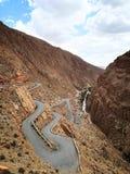 Ущелье в Марокко стоковая фотография rf