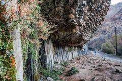 Ущелье Garni Армении Стоковые Фото