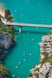 Ущелье Вердон, Провансаль, Франция стоковые изображения rf