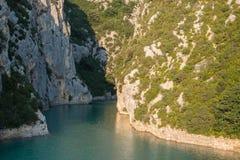 Ущелье Вердон, Провансаль, Франция стоковое изображение rf