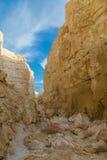 Ущелье горы в пустыне горы Стоковые Фотографии RF