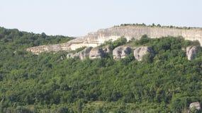 Ущелье горы стоковые фотографии rf