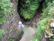 Ущелье Гуама, Россия Стоковая Фотография