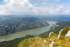 Ущелье Дуная Стоковые Изображения RF