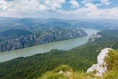 Ущелье Дуная Стоковое Изображение RF