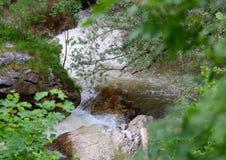Ущелье изображений реки Erma Стоковое Изображение RF