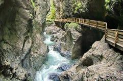 Ущелье Лихтенштейна Стоковое Изображение RF