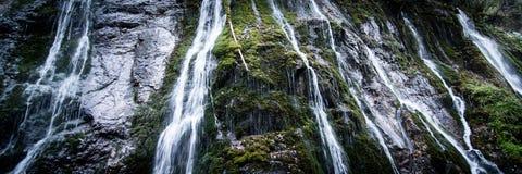 Ущелье на Wimbach в Bavarias Berchtesgaden Nationalpark Стоковое Изображение RF