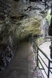Ущелье Aare Стоковое Изображение