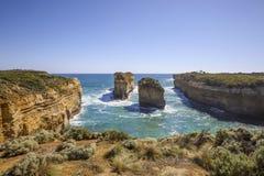 Ущелье Ard озера - Том и Ева, большая дорога океана, Австралия Стоковые Изображения RF