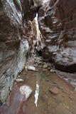 Ущелье Avakas Полуостров Akamas Стоковые Фотографии RF