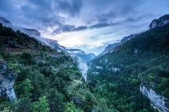 Ущелье de Ла Jonte Стоковое фото RF