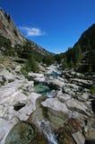 Ущелье de Ла Restonica, della Restonica Valle, Restonica-Tal Стоковые Изображения RF