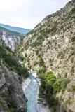 Ущелье de Guil Стоковые Фото
