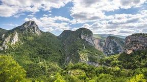 Ущелье du Verdon Стоковая Фотография RF